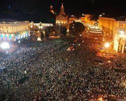 Телеканалы Украины проигнорировали Евромайдан - трансляции Нового года не будет