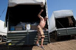 В СМИ появились первые фото «гуманитарного груза» из РФ