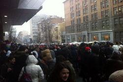 Лингвистический университет объявил забастовку, студенты пошли на Майдан