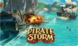 Чем игра для мальчиков Pirate Storm завоевала популярность на сайте odnoklassniki.ru