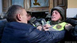 События у МЦКИ в Киеве 17 декабря