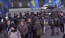 Участники забастовки начали блокирование админзданий в 6:00