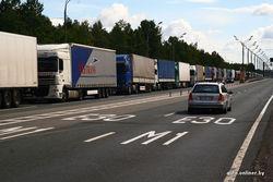 Автотуристам из Европы закрыли въезд в Россию через Беларусь