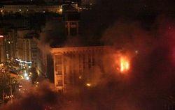Соболев рассказал о гибели в пожаре 50 активистов