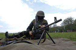 Утро началось с обстрела боевиками позиций сил АТО