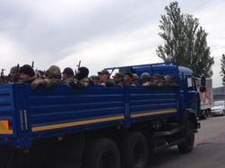 В Украину прорвались боевики из России