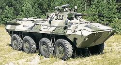 Российская армия сосредотачивает бронетехнику на Арабатской стрелке