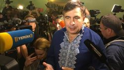 Саакашвили в Мостиском суде