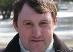 Лидер Евромайдана-Крым Андрей Щекун