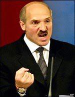 Александр Лукашенко в гневе