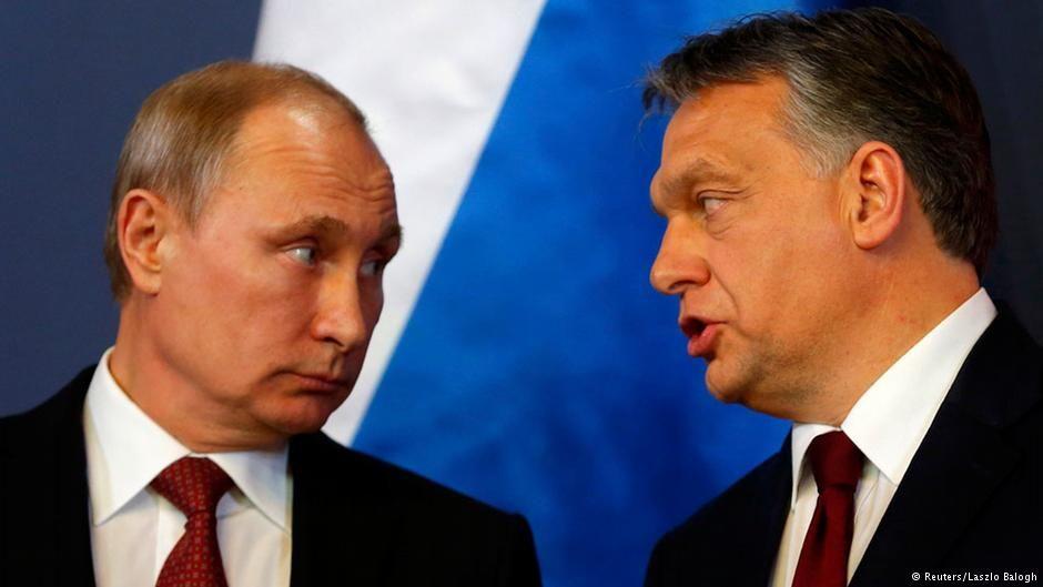 Путин прибыл вВенгрию для переговоров сОрбаном