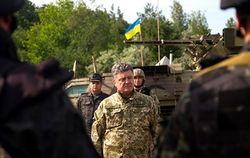 В 22:00 украинские силовики на неделю прекращают огонь – Порошенко