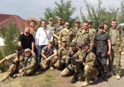 Сын министра МВД Авакова записался добровольцем в Киев-1