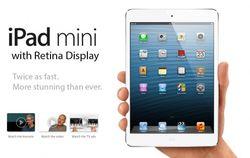 На дефекты экранов стали жаловаться обладатели iPad mini с Retina