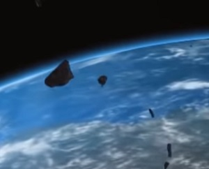 Фрагмент Челябинского метеорита