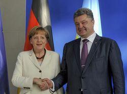 Порошенко – Меркель: Ключевая задача – перекрыть поставки оружия из России