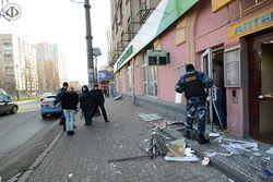 Взрыв у Сбербанка России в Киеве организовали не радикалы, а конкуренты?