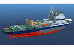 В России назвали стоимость и характеристики самого большого в мире ледокола