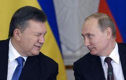 В. Янукович и В. Путин