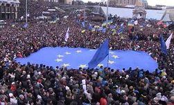 50 участников акции в Литве выразили солидарность с Евромайданом