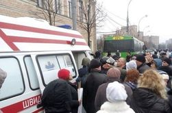 В Харькове от бит сепаратистов пострадали митингующие за единство Украины
