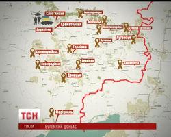 В Славянске террористы находятся в плотном окружении сил АТО