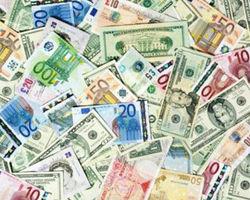 Курс евро на Forex снизился до 1.3257
