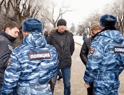 Полиция на улицах Волгограда