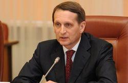 Севастополь может получить особый статус в составе России – Нарышкин