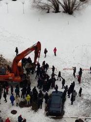 На протестующих в Москве бросили ОМОН и экскаваторы