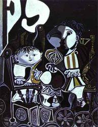 """Вдвое дороже стартовой цены ушла с торгов картина Пикассо """"Клод и Палома"""""""