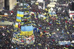 На Евромайдане граждане с утра занимают места для встречи Нового года