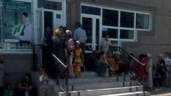 В Фергане люди по два дня ждут очереди на получение денежных переводов из-за границы