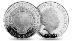 В честь рождения британской принцессы отчеканят памятные монеты