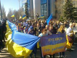 Подразделения АТО уже в центре Луганска – очевидцы