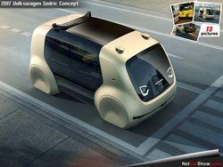 Компания Volkswagen презентовала беспилотный автомобиль 5-го поколения
