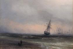 Новогодний корпоратив в музее закончился кражей картины Айвазовского