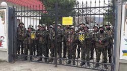 Базы ВС Украины в Крыму блокированы