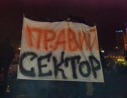 Правый сектор зовет владельцев огнестрельного оружия на Майдан