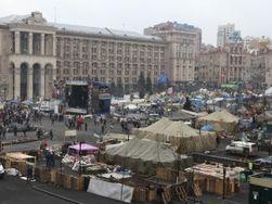Россиянин открывает мини-отель в палатке на Майдане для интуристов