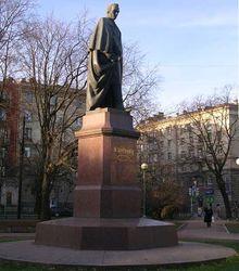 В Петербурге хотели взорвать памятник Шевченко в годовщину Майдана