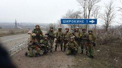 Полк «Азов» вывел часть подразделений из Широкино