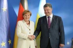 Меркель прибудет в Украину в День государственного флага