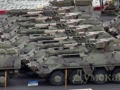 Украинские БТР на борту Se Pasifica