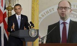 Встреча в Белом доме Обамы и Яценюка