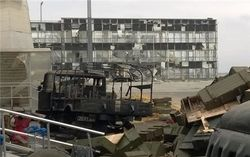 Утренний штурм боевиков в аэропорту Донецка успешно отбит – штаб АТО