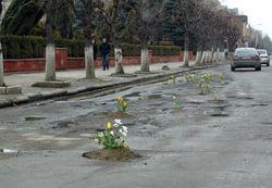 В Украине создают сервис о ямах на дорогах онлайн