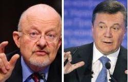 Глава разведки США: Янукович решительно настроен удержать власть