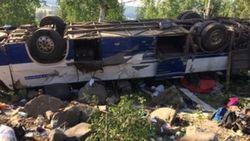 12 паломников погибли в перевернувшемся в Забайкалье автобусе