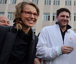 Муж Ксении Собчак поддержал Евромайдан в Киеве